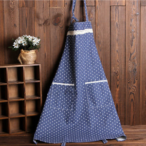 Country Kitchen Bib Apron for Woman