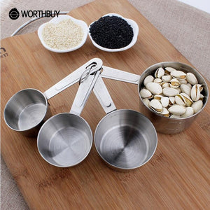 Stainless Steel Measuring Cup and/or Measuring Spoons