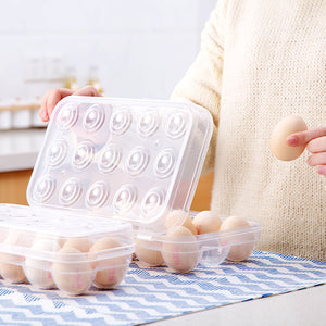 Transparent Egg Storage Box