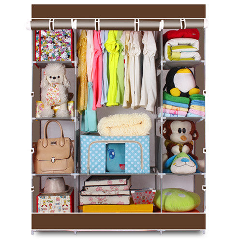 Closet / Wardrobe Organizer 4-Layer 10 Section