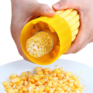 Corn Cob Stripper with Stainless Steel Blade