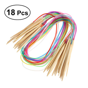 18 pcs 39 inch Circular Knitting Needle Set