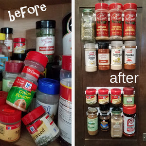 Spice Rack Clip N Store