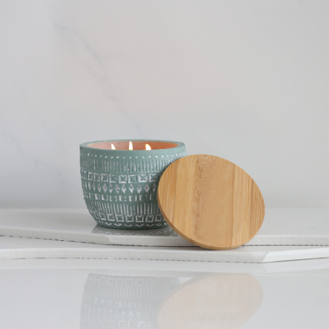 Build Your Own Candle | Green Sonora