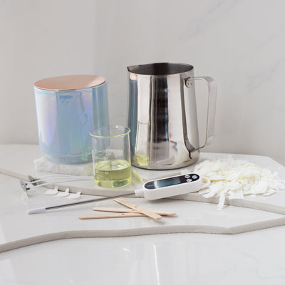 Blue Glow Candle Making Kit