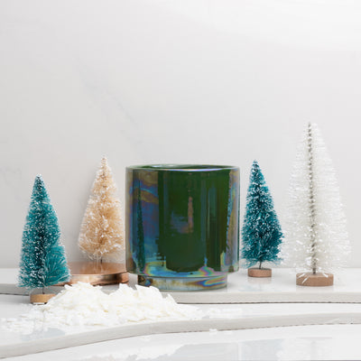 Build Your Own Candle | Holiday Green Glow