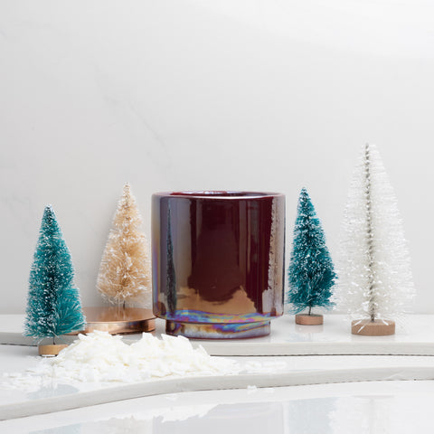 Build Your Own Candle | Holiday Red Glow