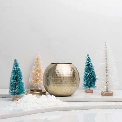 Build Your Own Candle | Holiday Gold Patina