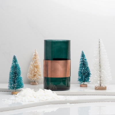 Build Your Own Candle | Holiday Green Dwell