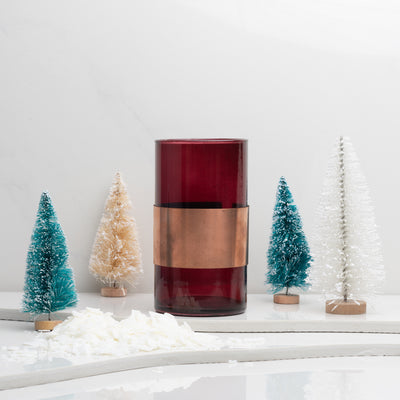 Build Your Own Candle | Holiday Red Dwell