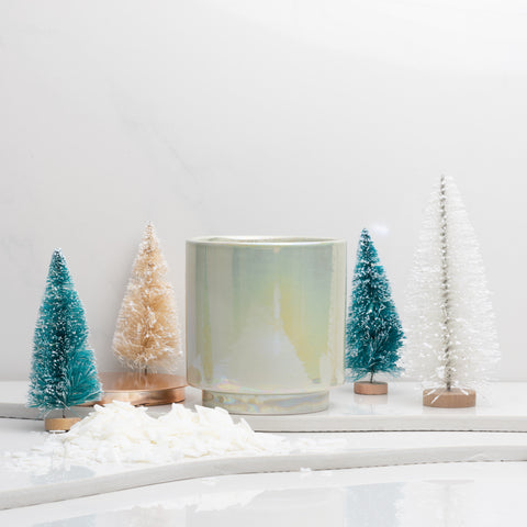 Build Your Own Candle | Holiday Mint Glow