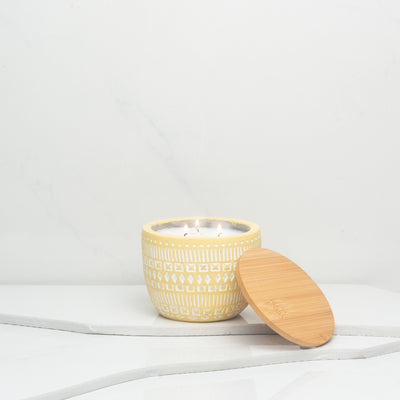 Build Your Own Candle | Yellow Sonora