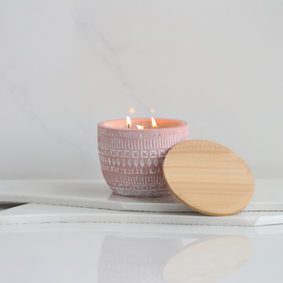 Build Your Own Candle | Pink Sonora