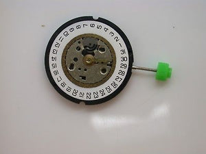 MOVEMENT SE310.31 WATCH MOVEMENT COMES TESTED WITH NEW BATTERY GREEN END