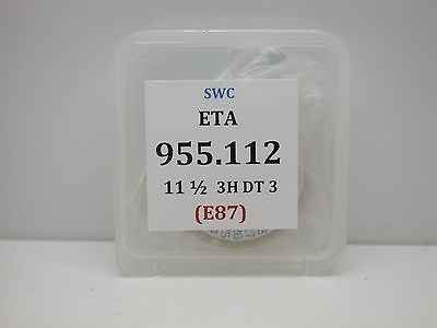 ETA MOVEMENT 955.112 COMES TESTED WITH NEW BATTERY