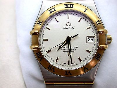 Omega Constellation 1202.30.00 Steel/18K Yellow Gold Automatic Men's Wristwatch