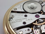 Waltham Premier 16 Size Vanguard 23 Jewels J.Boss 10K Gold Filled Case 1941 11A
