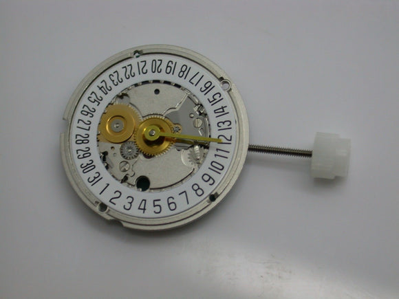 BRAND NEW THAILAND MOVEMENT - 956.414 2H6D - COMES TESTED WITH BATTERY