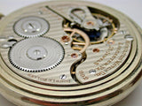 HAMILTON 16 SIZE POCKET WATCH 21 JEWEL DOUBLE ROLLER MADE IN 1930 8B