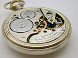 HAMILTON 16 SIZE POCKET WATCH MODEL 874 MADE IN 1913 MOON HANDS - 12B