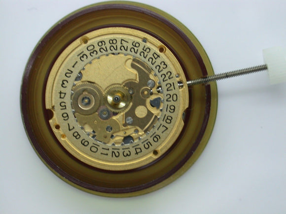 ETA 256.241 WATCH MOVEMENT - 256.241 COMES TESTED WITH NEW BATTERY