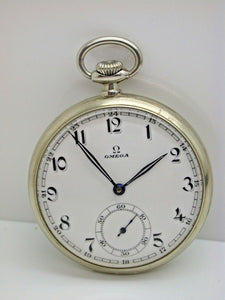 Omega 19 Ligne Cal. 38.5LT 15 Jewel Made in 1935 Omega Pocket Watch - 13E