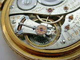 16 Size Elgin Veritas 23 Jewels Made in 1911 Grade 376 Vintage Pocket Watch - 7D