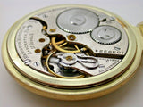 HAMILTON SIZE 16 MODEL 978 17 JEWEL MADE IN 1913 POCKET WATCH - 11B