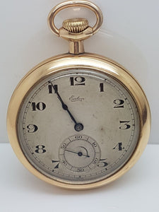 T. Eaton & Co 19 Ligne Swiss Made Pocket Watch 17 Jewel Canadian Fortune Case