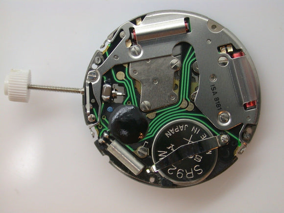 BRAND NEW WATCH MOVEMENT ISA 8181 COMES TESTED WITH NEW BATTERY