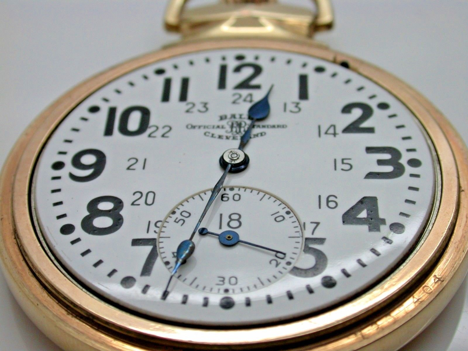 by gold official filled ball antique standard waltham jewels watches watch products pocket railroad
