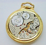 HAMILTON 992B 21 JEWEL MADE IN 1946 POCKET WATCH MODEL #2 WOODSWORTH 6B
