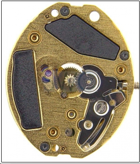 ETA 901.001 WATCH MOVEMENT - 901.001 COMES TESTED WITH NEW BATTERY