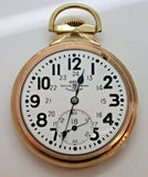 16 Size Ball Official Standard 1913 M999N 23 Jewel Pocket Watch Model Circa 1913