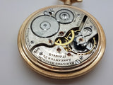 Vintage Hamilton 16 Size Pocket Watch 17 Jewel Model 972 Made in 1918 16A