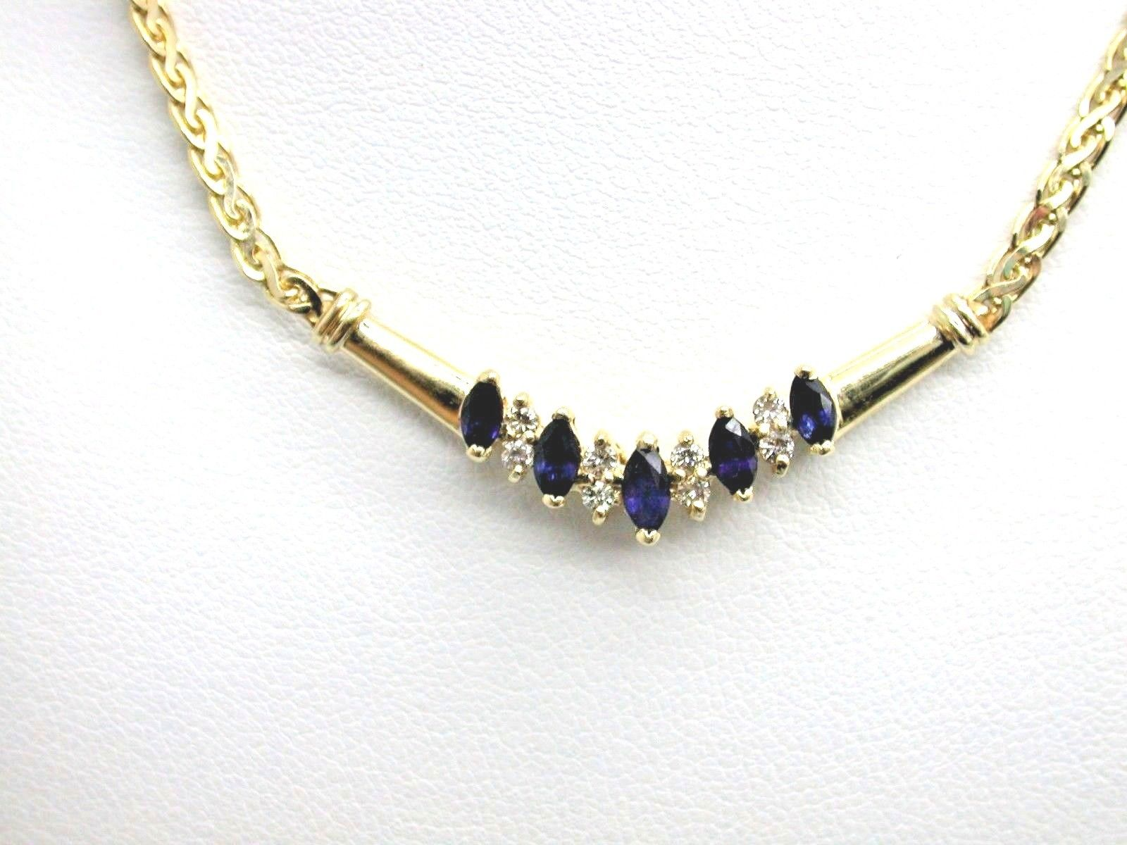 l marquise retail set diamond necklace bezel gold