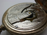 18 Size hunting Cased Waltham 15 Jewel Pocket Watch Mfg. 1898 Model 1883 - F14