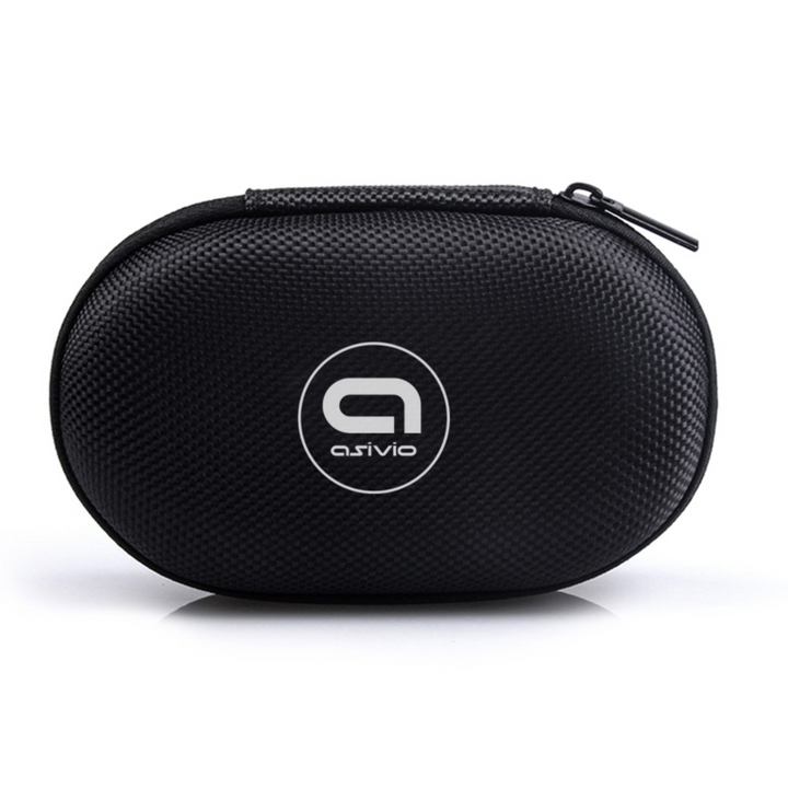 Asivio Nylon Earphone Storage Pouch Case - ASIVIO