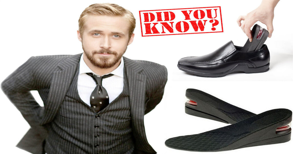 Ryan Gosling Wears Shoe Lifts To Look Taller