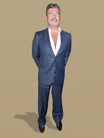 How tall is Simon Cowell
