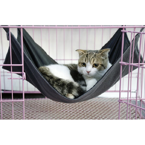 Cat/Kitten Waterproof, Soft Hammock. Available in Small or Large, 4 Colours Black, Blue, Pink or Purple