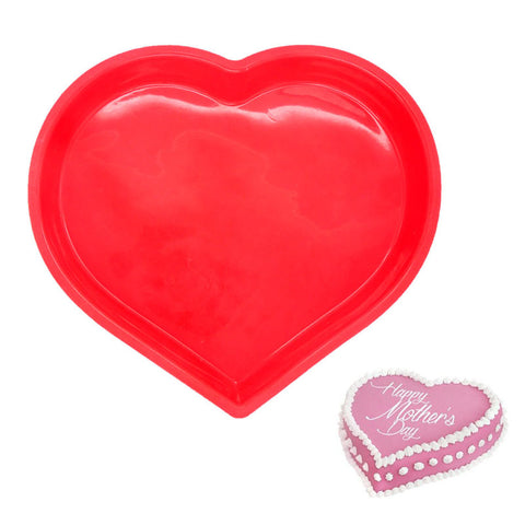Heart Shaped Silicone Cake Mould Oven Proof, Freezer Proof