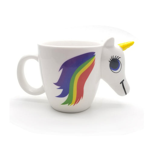 Unicorn Porcelain Ceramic Mug/Cup 350ml. Unicorn Changes Colours
