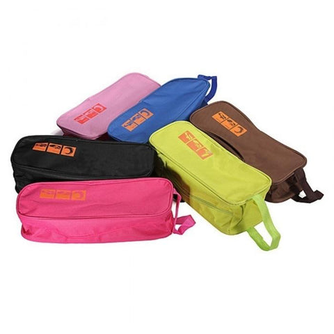 Shoe Bag Selection of Colours Available - Black, Brown, Dark Pink, Light Pink, Green, Blue