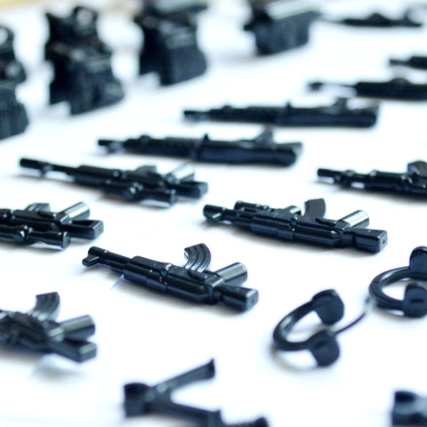 96 Piece Set - Military Weapons Set