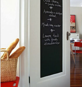 Versatile & Fun This Chalk Board/Blackboard. 200cmx25cm. Removable Vinyl Sticker. Kitchen or Kids Rooms Decoration.