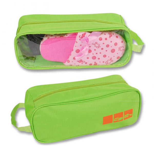 Football Boot/Sports Waterproof Shoe Bag. Colours - Black, Brown, Dark Pink, Light Pink, Blue, Green