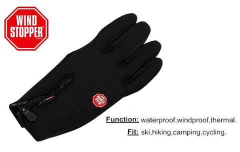 Wateproof, Windproof, Thermal Touch Screen Gloves Snowboarding, Skiing, Motorcycle, Mountain Biking