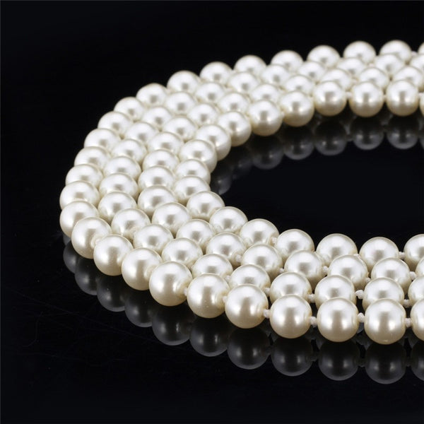 Synthetic Pearl White Necklace
