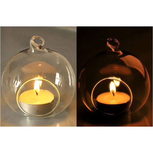 Bubbles Party Decoration Tealight candle holder translucent glass